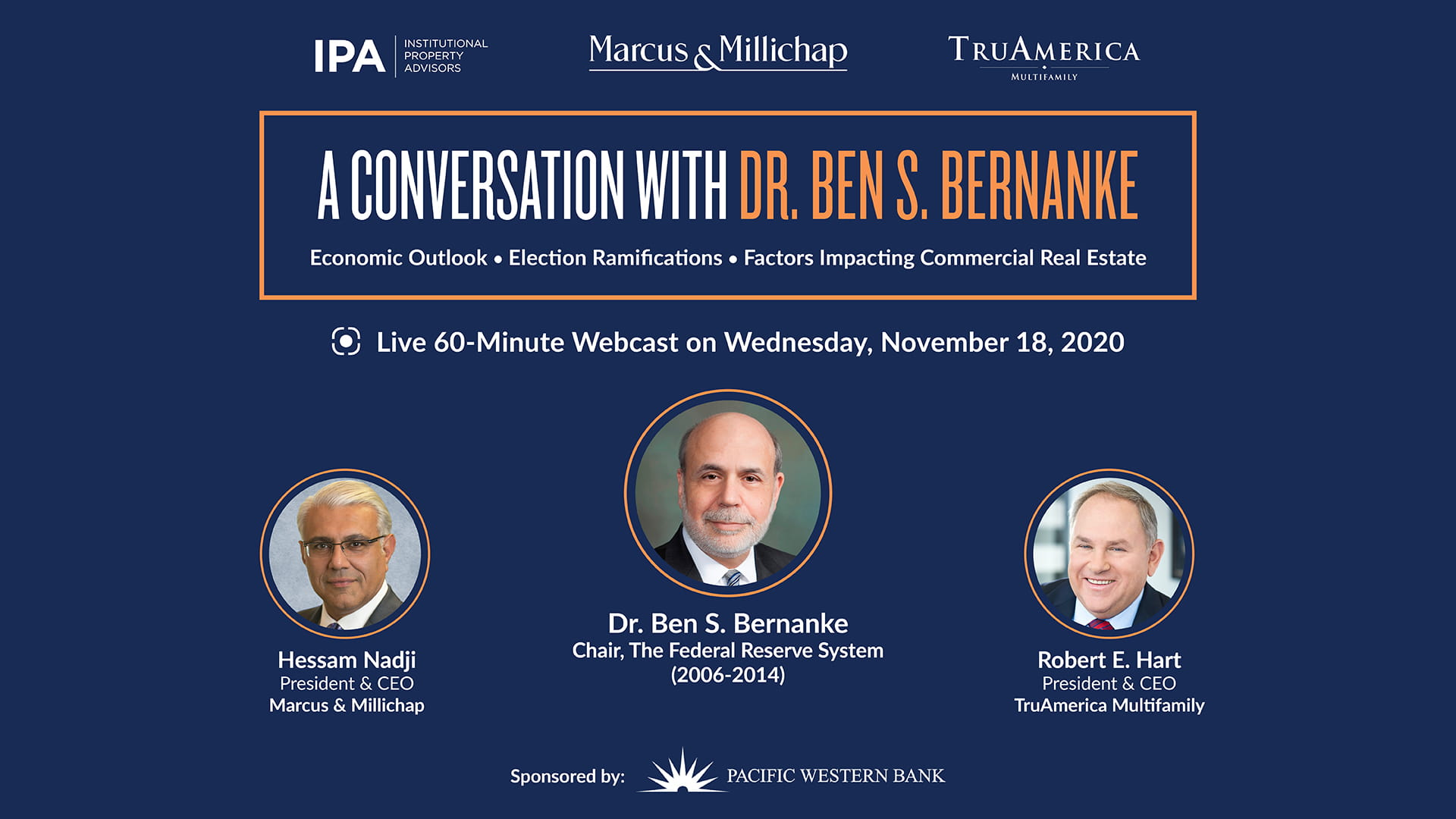 A Conversation with Dr. Ben S. Bernanke