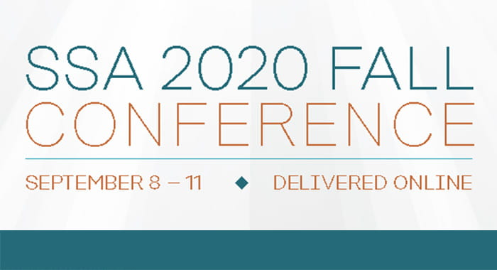 SSA 2020 Fall Conference