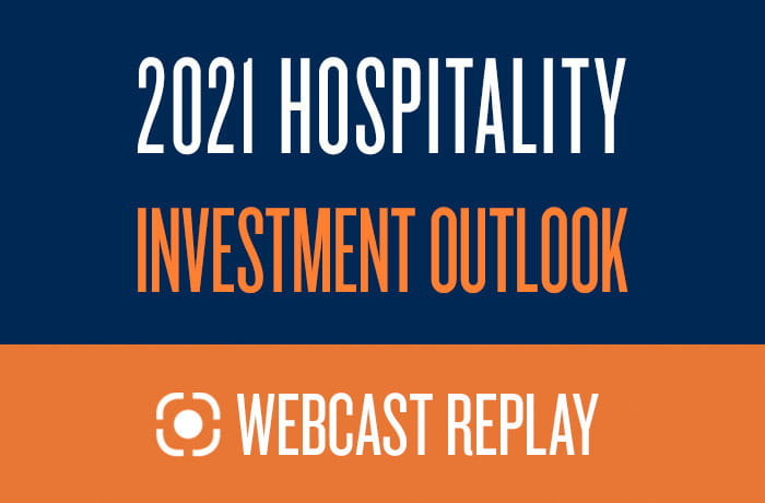 2021 Hospitality Investment Outlook