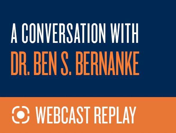 A Conversation with Dr. Ben S. Bernanke